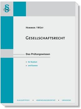 Abbildung von Hemmer / Wüst   Gesellschaftsrecht   15. Auflage   2019   beck-shop.de