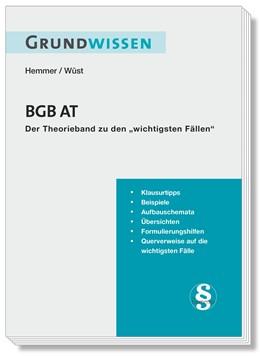 Abbildung von Hemmer / Wüst | Grundwissen BGB AT | 10. Auflage | 2019 | beck-shop.de