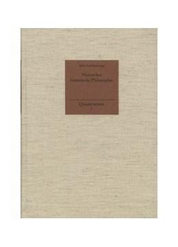 Abbildung von Lanfranconi / Holzboog | Nietzsches historische Philosophie | 2001 | 7