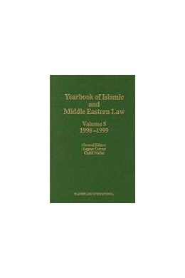 Abbildung von Cotran / Mallat   Yearbook of Islamic and Middle Eastern Law, Volume 5 (1998-1999)   2004   5