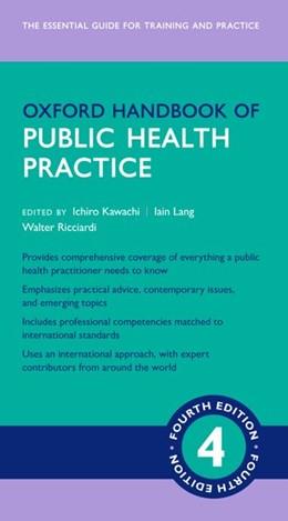 Abbildung von Kawachi / Lang | Oxford Handbook of Public Health Practice 4e | 4. Auflage | 2020 | beck-shop.de