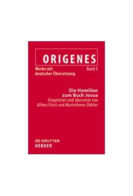 Abbildung von Döhler / Fürst | Die Homilien zum Buch Josua | 1. Auflage | 2020 | beck-shop.de