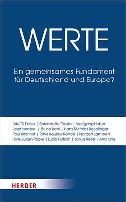 Abbildung von Droste | Werte | 1. Auflage | 2019 | beck-shop.de