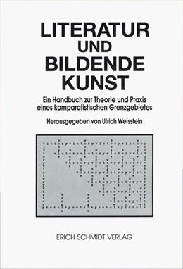 Abbildung von Weisstein | Literatur und bildende Kunst | 1992 | Ein Handbuch zur Theorie und P...