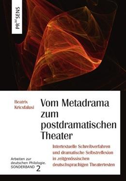 Abbildung von Kricsfalusi | Vom Metadrama zum postdramatischen Theater | 1. Auflage | 2019 | beck-shop.de