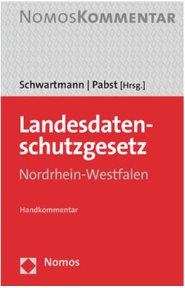 Abbildung von Schwartmann / Pabst (Hrsg.) | Landesdatenschutzgesetz Nordrhein-Westfalen | 2. Auflage | 2020 | Handkommentar