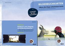 Abbildung von Schirmer | Bilderbuchkarten »Wenn die Ziege schwimmen lernt« von Neele Moost und Pieter Kunstreich | 2020 | 12 Karten für das Kamishibai, ...