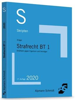 Abbildung von Krüger | Skript Strafrecht BT 1 | 17. Auflage | 2020 | beck-shop.de