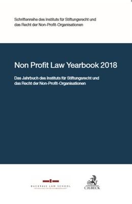 Abbildung von Non Profit Law Yearbook 2018 | 1. Auflage | 2019 | beck-shop.de