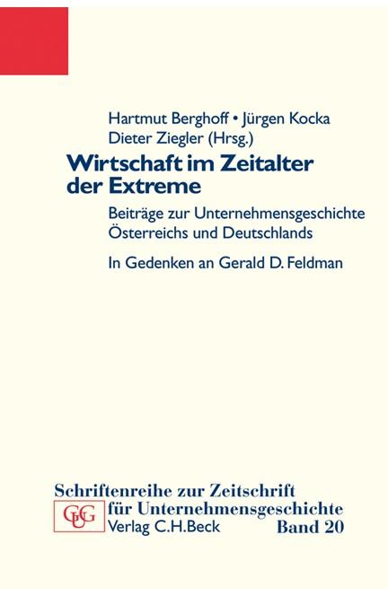 Cover: , Wirtschaft im Zeitalter der Extreme