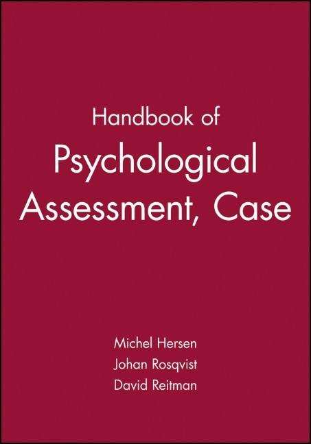 Abbildung von Hersen | Handbook of Psychological Assessment, Case Conceptualization, and Treatment | 1. Auflage | 2007