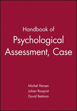 Abbildung von Hersen | Handbook of Psychological Assessment, Case Conceptualization, and Treatment | 1. Auflage | 2007 | Two-Volume Set
