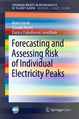 Abbildung von Jacob / Neves / Vukadinovic Greetham | Forecasting and Assessing Risk of Individual Electricity Peaks | 2019
