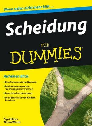 Scheidung für Dummies | Born-Berg / Würth, 2010 | Buch (Cover)