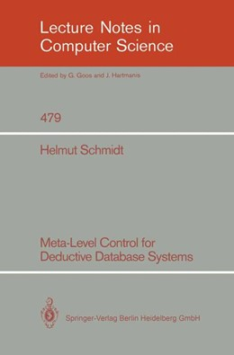 Abbildung von Schmidt | Meta-Level Control for Deductive Database Systems | 1991 | 479