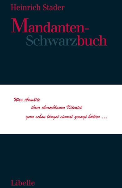 Abbildung von Stader | Mandanten-Schwarzbuch | 2009