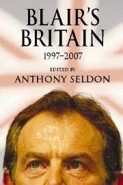 Abbildung von Seldon | Blair's Britain, 1997-2007 | 2007