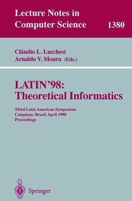 Abbildung von Lucchesi / Moura | LATIN'98: Theoretical Informatics | 1998