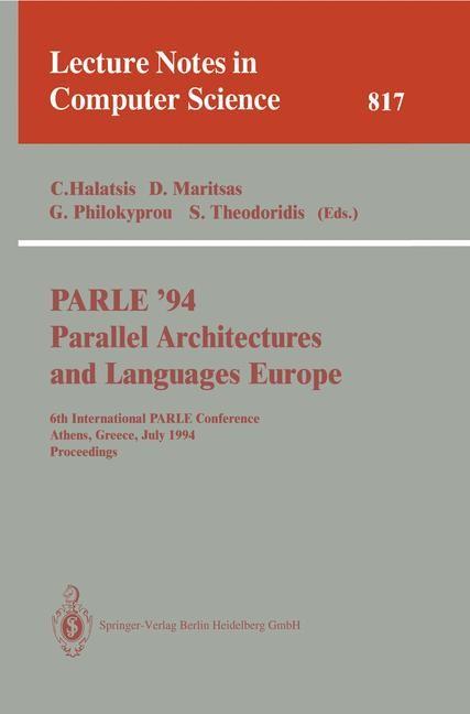 Abbildung von Halatsis / Maritsas / Philokyprou / Theodoridis   PARLE '94 Parallel Architectures and Languages Europe   1994