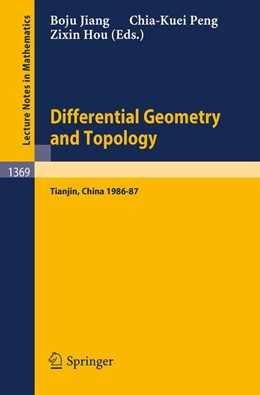 Abbildung von Jiang / Peng / Hou | Differential Geometry and Topology | 1989 | Proceedings of the Special Yea...