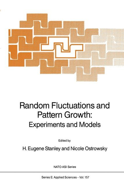 Abbildung von Stanley / Ostrowsky | Random Fluctuations and Pattern Growth: Experiments and Models | 1988