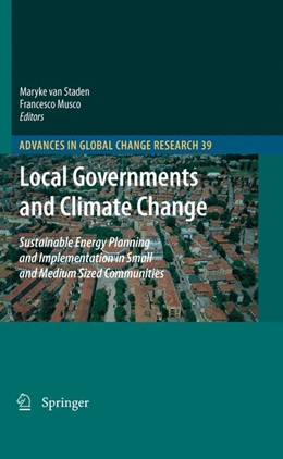 Abbildung von van Staden / Musco | Local Governments and Climate Change | 2010 | Sustainable Energy Planning an... | 39