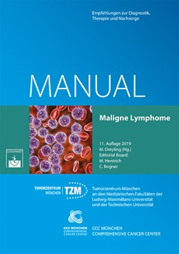 Abbildung von Dreyling   Manual Maligne Lymphome   11. überarbeitete Auflage   2019   Empfehlungen zur Diagnostik, T...