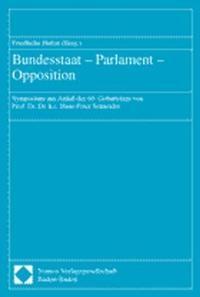 Abbildung von Hufen | Bundesstaat - Parlament - Opposition | 2001