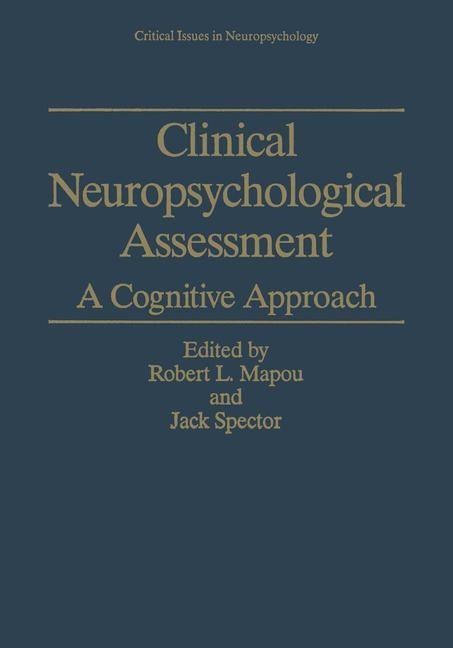 Abbildung von Mapou / Spector | Clinical Neuropsychological Assessment | 1995
