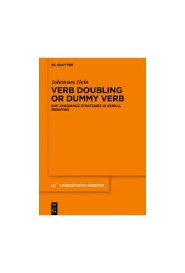 Abbildung von Hein   Verb Doubling and Dummy Verb   1. Auflage   2020   574   beck-shop.de