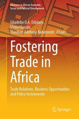 Abbildung von Odularu / Hassan   Fostering Trade in Africa   1. Auflage   2020   beck-shop.de