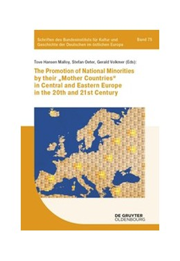 Abbildung von Malloy / Oeter | The promotion of national minorities by their 'mother countries' in Central and Eastern Europe in the 20th and 21st century | 1. Auflage | 2020 | 75 | beck-shop.de
