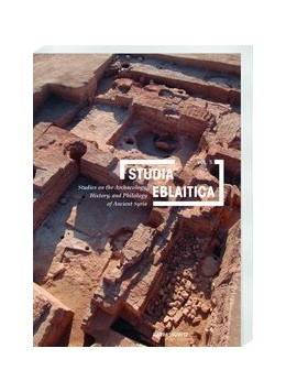 Abbildung von Matthiae | Studia Eblaitica 5 (2019) | 2019 | Studies on the Archaeology, Hi... | 5
