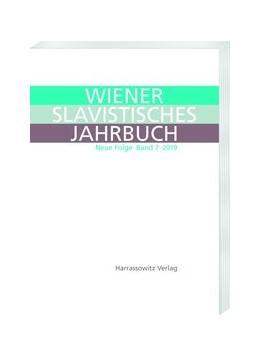 Abbildung von Newerkla / Poljakov | Wiener Slavistisches Jahrbuch 7 (2019) | 2019 | Neue Folge. Vienna Slavic Year... | 7