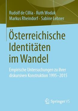 Abbildung von de Cillia / Wodak | Österreichische Identitäten im Wandel | 1. Auflage | 2020 | beck-shop.de