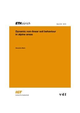 Abbildung von Marin | Dynamic non-linear soil behaviour in alpine areas | 1. Auflage | 2019 | 253 | beck-shop.de