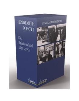 Abbildung von Schaal-Gotthardt / Schader / Winkler | Hindemith - Schott. Der Briefwechsel | 2020 | Herausgegeben von Susanne Scha...