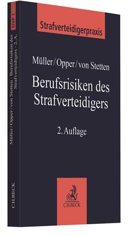 Abbildung von Müller / Opper | Berufsrisiken des Strafverteidigers | 2. Auflage | 2021 | Band 5 | beck-shop.de