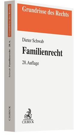Abbildung von Schwab   Familienrecht   28. Auflage   2020   beck-shop.de