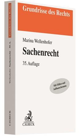 Abbildung von Wellenhofer | Sachenrecht | 35. Auflage | 2020