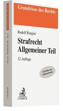Abbildung von Rengier | Strafrecht Allgemeiner Teil: Strafrecht AT | 12. Auflage | 2020 | beck-shop.de