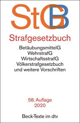 Abbildung von Strafgesetzbuch: StGB | 58. Auflage | 2020 | 5007 | beck-shop.de