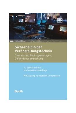Abbildung von Ebner   Sicherheit in der Veranstaltungstechnik   4. Auflage   2021   beck-shop.de