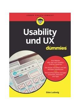 Abbildung von Ludewig   Usability und UX für Dummies   1. Auflage   2020   beck-shop.de