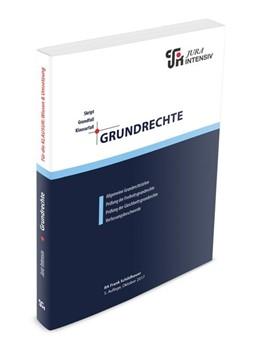 Abbildung von Schildheuer | Grundrechte | 6. Auflage | 2020 | Wissen - Fälle - Klausurhinwei...