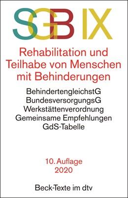 Abbildung von SGB IX Rehabilitation und Teilhabe von Menschen mit Behinderungen | 10. Auflage | 2020 | 5755 | beck-shop.de