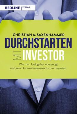 Abbildung von Saxenhammer | Durchstarten mit Investor | 2020 | Wie man Geldgeber überzeugt un...