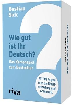 Abbildung von Sick | Wie gut ist Ihr Deutsch? - Das Kartenspiel zum Bestseller | 1. Auflage | 2020 | beck-shop.de