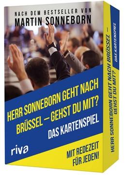 Abbildung von Herr Sonneborn geht nach Brüssel - gehst du mit?   2020   Das Kartenspiel