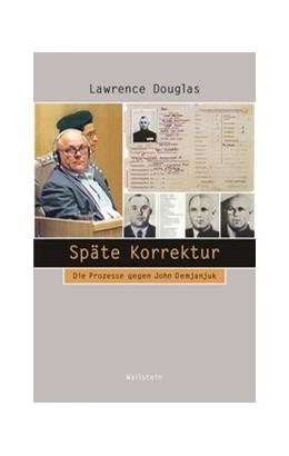 Abbildung von Douglas   Späte Korrektur   1. Auflage   2020   Die Prozesse gegen John Demjan...